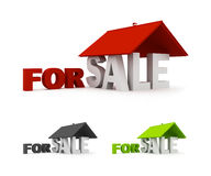 Real Estate For Sale  Royalty Free Stock Images