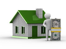 Real estate sale Royalty Free Stock Image