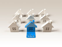 Real estate : for sale Stock Image
