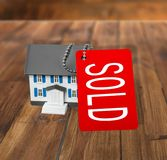 Real Estate For Sale. House Real Estate Sign Sale Sold Moving House Selling Stock Image