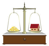 Real estate sales Royalty Free Stock Photos