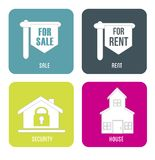 Real estate sales rent Royalty Free Stock Photography