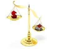 Real Estate-Schaal Royalty-vrije Stock Foto