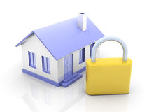 Real estate security Royalty Free Stock Photography