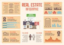 Real Estate servar Plan illustration för vektor vektor illustrationer
