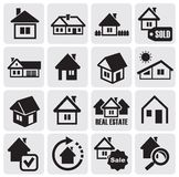 Real estate set Royalty Free Stock Images