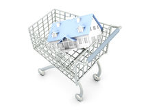 Real Estate Shopping Royalty Free Stock Photography