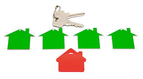 Real estate sign Royalty Free Stock Image