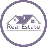 Real estate and logo image Royalty Free Stock Images