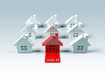 Real Estate : Sold Royalty Free Stock Photography