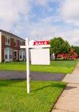 Real Estate som är till salu i nordlig Va USA Arkivfoto