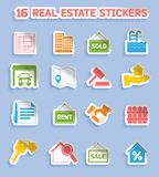 Real estate stickers Stock Images