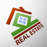 Real estate. Stock illustration. Royalty Free Stock Photo