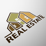 Real estate. Stock illustration. Royalty Free Stock Images