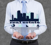 Real estate symbol Stock Photography