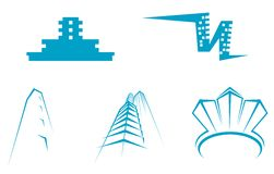 Real estate symbols stock images