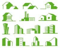 Real Estate Symbols Stock Photo