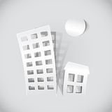Real estate symbols Stock Photography