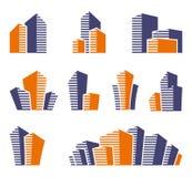 Real estate symbols Stock Photography