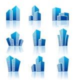 Real estate symbols Stock Images