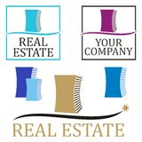 Real estate symbols Stock Photos