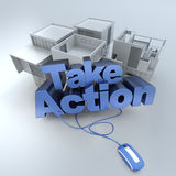 Real Estate, take action Royalty Free Stock Photos