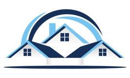 Real Estate taklägger vektorn royaltyfri illustrationer