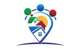 Real Estate Team Photographie stock libre de droits