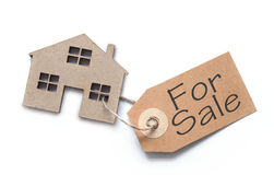Real estate to sale concept Royalty Free Stock Images