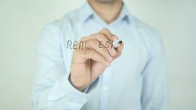 Real Estate usługa, Pisze Na Przejrzystym ekranie zbiory