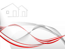 Real estate vector Royalty Free Stock Image