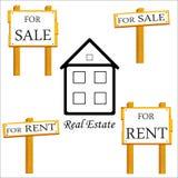 Real Estate Vector icon Stock Photo