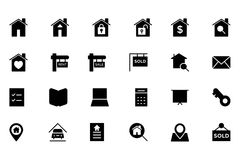 Real Estate Vector Icon 1 Stock Photography