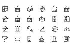 Real Estate Vector Icon 3 Royalty Free Stock Photo