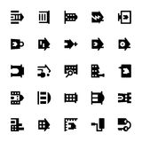 Real Estate Vector Icons 2 Royalty Free Stock Images