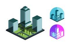 Real Estate vector logo design template. building Stock Image