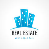 Real-estate vector logo. Royalty Free Stock Images