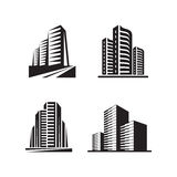 Real estate - vector logo signs concept illustrations Royalty Free Stock Photography