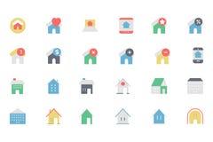 Real Estate Vector o ícone 5 Fotografia de Stock
