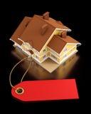 Real Estate vendent aux enchères Photographie stock