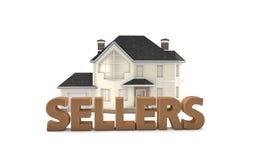Real Estate-Verkäufer Stockfotografie