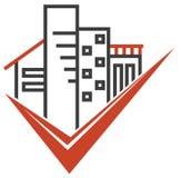 Real Estate versinnbildlichen Stockbild