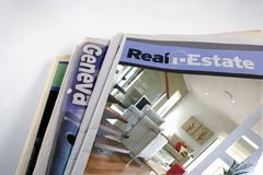Real Estate Weekly Royalty Free Stock Image
