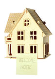 Real estate, welcome hone Stock Images