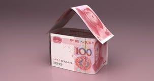 Real Estate z chińczykiem Juan ilustracji