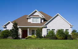 Real Estate11. Rural home on a sunny day in Florida Stock Photography