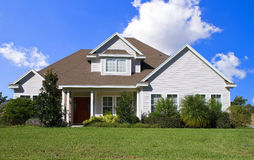 Real Estate11c. Rural home on a sunny day in Florida Stock Photography