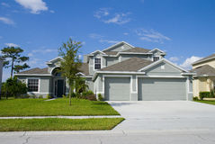 Real Estate3. Rural Home on a sunny day in Florida Stock Image