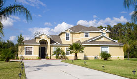 Real Estate4. Rural Home on a sunny day in Florida Royalty Free Stock Photography