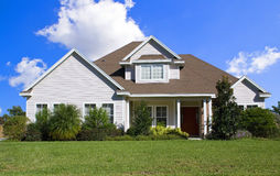 Real Estate4. Rural Home on a sunny day in Florida Stock Photography